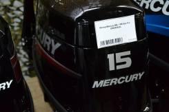 Mercury. 15,00л.с., 2х тактный, бензин, нога S (381 мм), Год: 2015 год. Под заказ