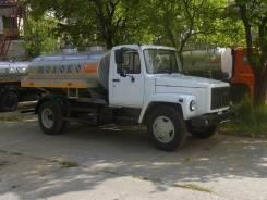 ГАЗ 3309. Молоковоз 4,2 м3 (новый водовоз), 4,20куб. м.