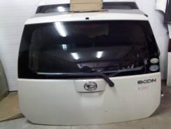 Дверь багажника. Toyota Passo, QNC10, KGC15, KGC10, M300S, M301S, M310S, M312S Daihatsu Boon, M310S, M300S, M312S, M301S