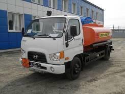 Hyundai HD78. Топливозаправщик АТЗ-4.9 на шасси Hyundai HD 78 (новый бензовоз), 4,90куб. м.