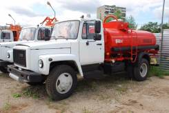 ГАЗ 3309. Топливозаправщик АТЗ-4.9 на шасси (новый бензовоз), 4,90куб. м.