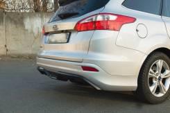 Бампер. Ford Focus Двигатели: ZETECSE, TIVCT