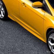 Порог пластиковый. Ford Focus Двигатели: ZETECSE, TIVCT