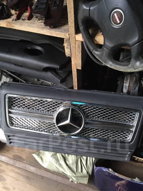 Решетка радиатора. Mercedes-Benz: R-Class, S-Class, M-Class, E-Class, X-Class, A-Class, V-Class, G-Class, B-Class, C-Class