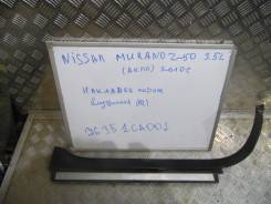 Накладка на порог. Nissan Murano, Z50 Двигатель VQ35DE