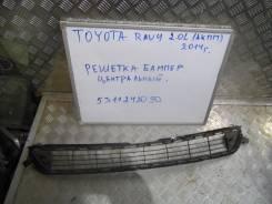Решетка бамперная. Toyota RAV4
