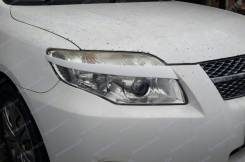 Накладка на фару. Toyota Corolla Fielder, NZE141G, ZRE144G, ZRE144, ZRE142, ZRE142G, NZE141, NZE144, NZE144G Toyota Corolla Axio, ZRE142, NZE141, ZRE1...