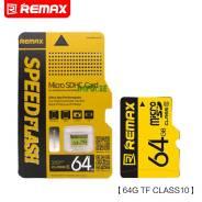 Карта памяти micro SD(микро СД) 64 Gb Remax (class 10)