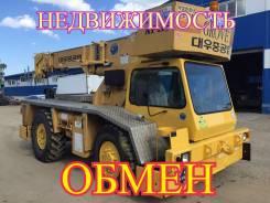 Daewoo. Автокран , грузоподъемность 14 тонн, длина 15 метров, 14 000 кг., 15 м.