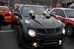 Капот. Nissan Juke