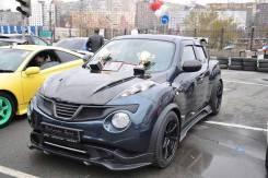 Обвес кузова аэродинамический. Nissan Juke
