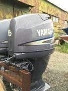 Yamaha. 80,00л.с., 4х тактный, бензин, нога L (508 мм), Год: 2004 год