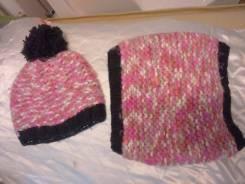Шапка и шарф. Рост: 152-158, 158-164, 164-170 см