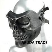 Тактическая маска Череп Воина (Скелетон) - Металлик (Оригинал)
