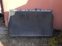 Радиатор охлаждения двигателя. Toyota Mark II, GX105, GX100 Двигатель 1GFE
