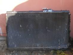 Радиатор охлаждения двигателя. Toyota Chaser, GX100, GX105 Двигатель 1GFE