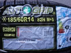 Autogrip Ecosnow. Зимние, без шипов, 2014 год, без износа, 4 шт