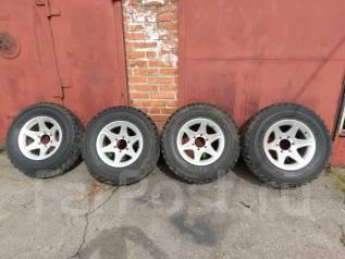 Продам комплект грязевых колес 265/70 R16 Dunlop Grandtrek MTна литье. 8.0x16 6x114.30 ET0