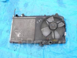 Радиатор охлаждения двигателя. Toyota Celica, ST185 Двигатель 3SGTE