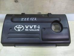Крышка двигателя. Toyota WiLL VS, ZZE127 Двигатель 1ZZFE