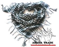 Платок-Арафатка (Шемаг, шемах) черно-белый