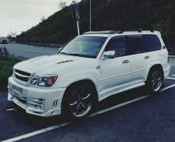 Обвес кузова аэродинамический. Toyota Land Cruiser. Под заказ