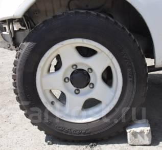Комплект грязевых M/T колес 195/80R16 ( 195R16C ). 6.0x16 5x139.70 ET6 ЦО 110,0мм.