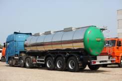 Foxtank. Полуприцеп цистерна пищевая Fox Tank 33м3 (новая), 33,00куб. м.