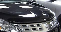 Дефлектор капота. Nissan Murano, Z50
