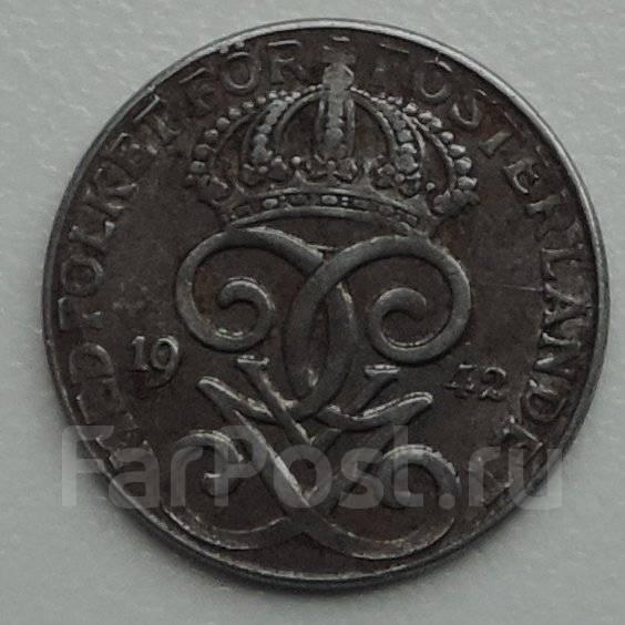 2 эре. Швеция 1942