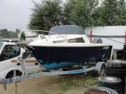 Yamaha Fish 17. Год: 1991 год, длина 5,50м., двигатель подвесной, 60,00л.с., бензин