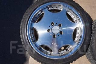 215/45R18 Зимние шины с кованными дисками AME Shallen. Б/П по РФ. 7.5x18 5x114.30 ET43 ЦО 73,0мм.