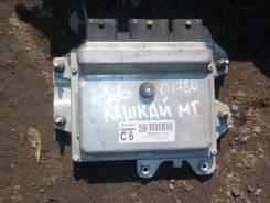 Блок управления двс. Nissan Qashqai, J10 Двигатели: MR20DE, HR16DE