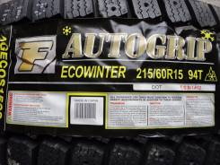Autogrip Ecowinter. Зимние, без шипов, 2014 год, без износа, 2 шт