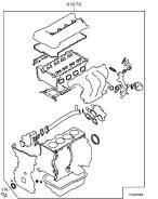 Ремкомплект двигателя. Mitsubishi: Lancer Evolution, Delica D:5, Starion, Outlander, Galant Fortis Двигатель 4B12