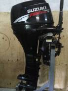 Suzuki. 30,00л.с., 4х тактный, бензин, нога X (635 мм), Год: 2004 год