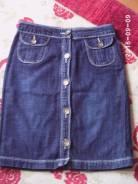 Юбки джинсовые. 44, 40-44