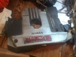Крышка двигателя. Nissan Laurel Двигатель RB20DE