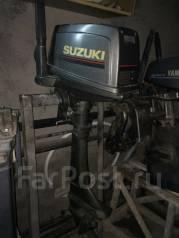 Suzuki. 6,00л.с., 2-тактный, бензиновый, нога S (381 мм), Год: 2000 год