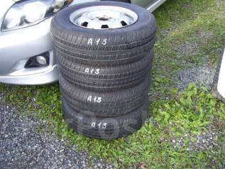 Комплект летних шин с дисками 175/70 R-13. x13 4x100.00 ЦО 53,0мм.
