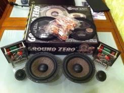 Двух компонентная акустика ground zero gzuc 650 SQ
