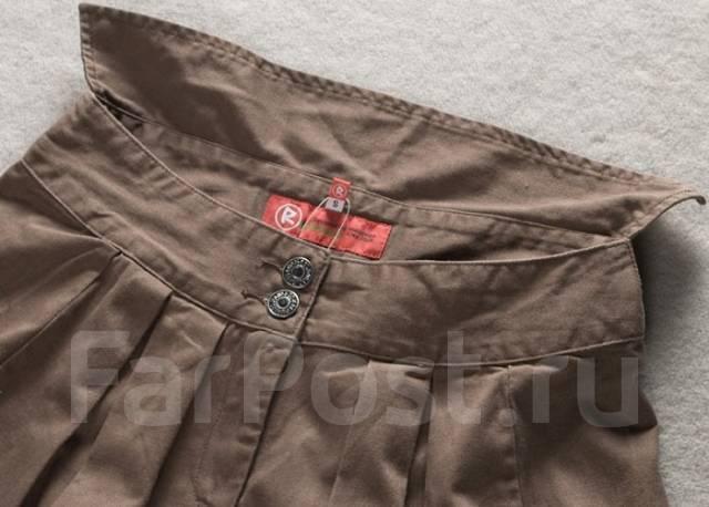 Fashionably&stylishly! джинсовая юбка-тюльпан цвета кофе!. 48