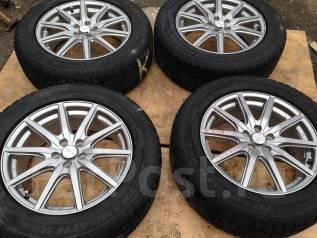 Продам зимние шины 225/60R17 на литых дисках. 7.0x17 5x100.00 ET48