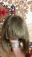 Парики, шиньоны, пряди волос.