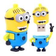 Флешка-брелок 16 Gb USB, Миньон