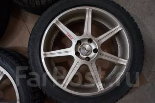 235/45R17 Зимние шины с литыми дисками Rays Versus Avanti Без пробега. 7.0x17 5x100.00 ET48 ЦО 65,0мм.