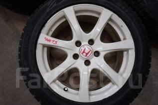 235/50R18 Зимние шины с литыми дисками Honda. Без пробега по РФ. 7.5x18 5x114.30 ET60 ЦО 64,0мм.