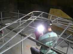 Сварочные работы: сварка рекламных сооружений, ремонт ворот и петель.