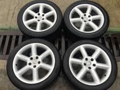 Зимние японские колеса! 18inch 8jj +30 pcd 5x114.3 245/45R18 255/45R18. 8.0x18 5x114.30 ET30