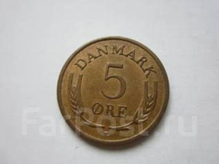 Дания 5 эре 1966 года.